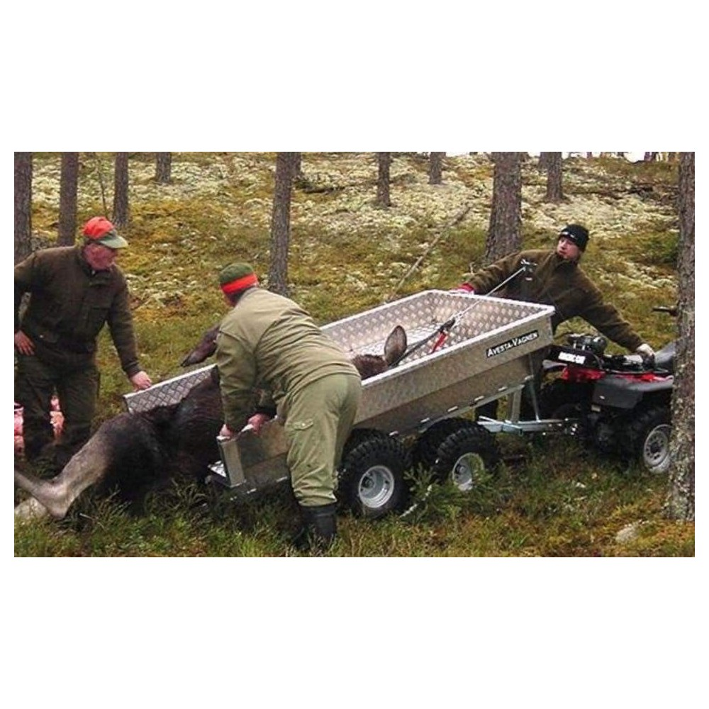 AVESTA-VAGNEN FV1000 BIG FOOT hirvikärry